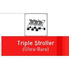 Triple Stroller x3 Adopt Me Roblox