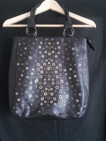 Czarna torbka worek Marisha DŻETY