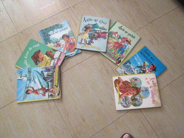 Livros antigos da Anita da Verbo Juvenil