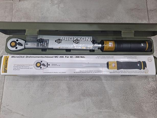 PROXXON - Klucz Dynamometryczny 1/2 MC 200. 40-200 Nm.