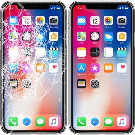 Переклейка скла/заміна дисплею iPhone