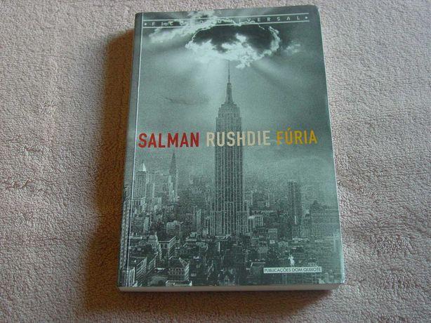 """Livro """"Fúria"""" de Salman Rushdie"""