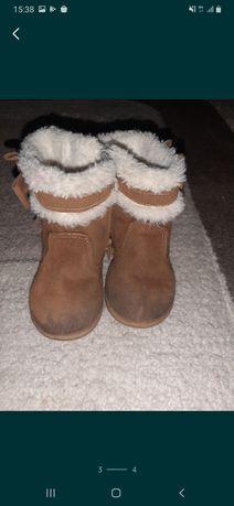 Ботинки, сапожки, угги детские стелька 13.5 см, размер 21,22