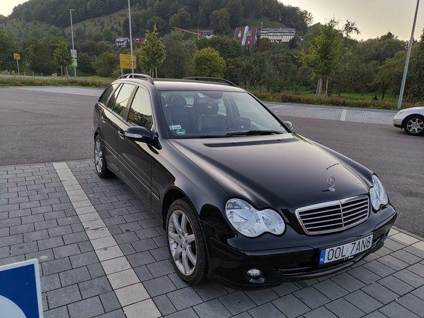 Mercedes w 203 c klasa lift skóra Alu!