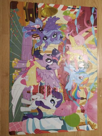 Duże puzzle my little pony