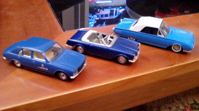 Miniaturas Solido Peugeot 504/Facel/Ford/Burago Bmw M3/M Roadster 1/43