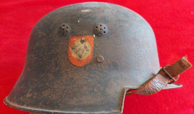 Capacete POLIZEI helmet ORIGINAL suástica Alemanha nazi