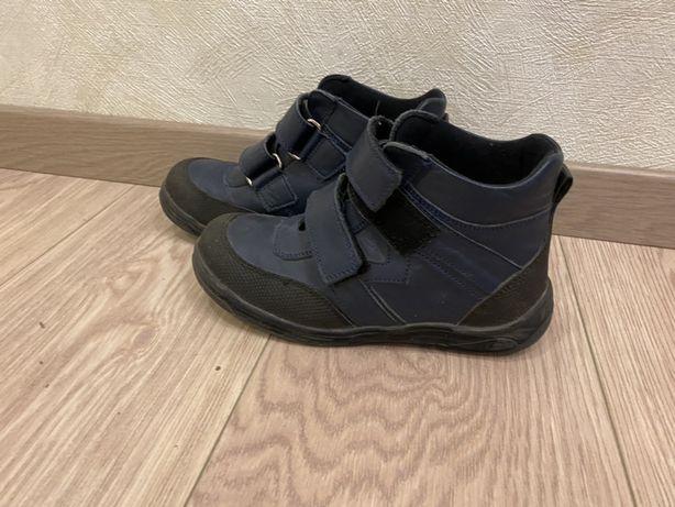 Б/у детские ботинки демисезонные ортопед 32 размер Minimen
