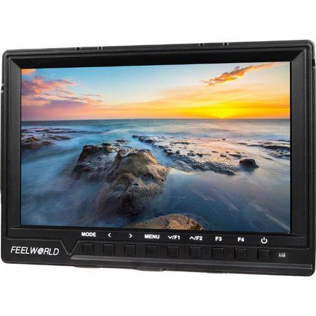 """Monitor podglądowy HDMI FullHD, 7"""", stan: idealny, fabryczny BOX"""