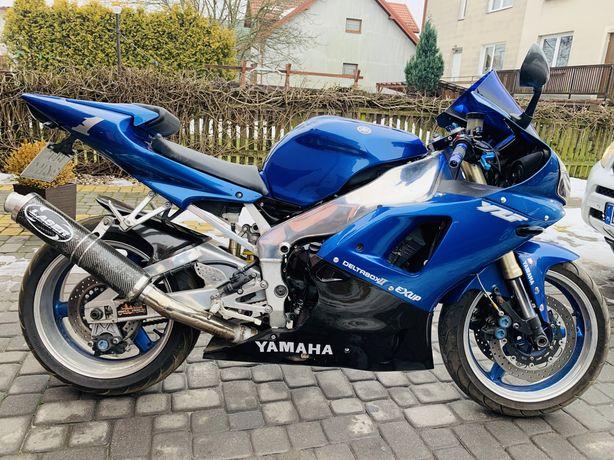 Yamaha yzf R1 doinwestowana