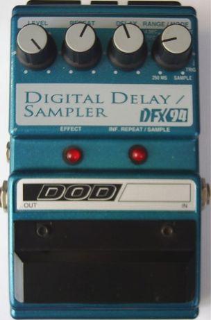 Pedal delay DOD DFX 94