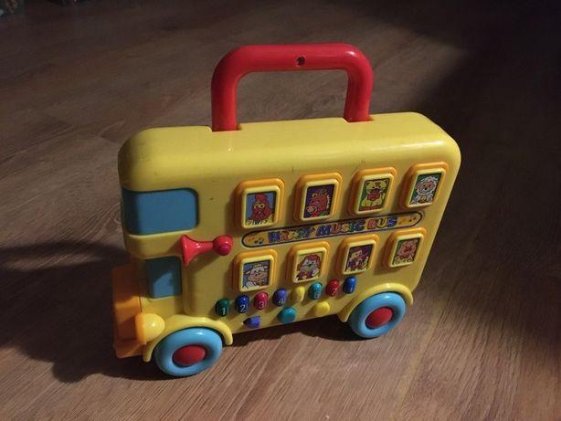 Развивающий музыкальный автобус