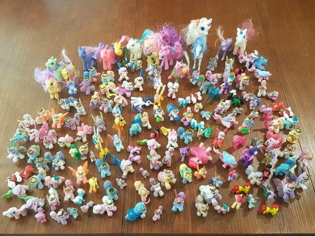 Mega zestaw Kucyki Pony - 163 szt