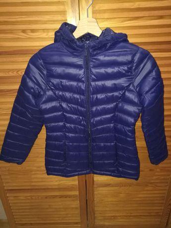 Reserved - Ciepła kurtka zimowa dziewczęca 146