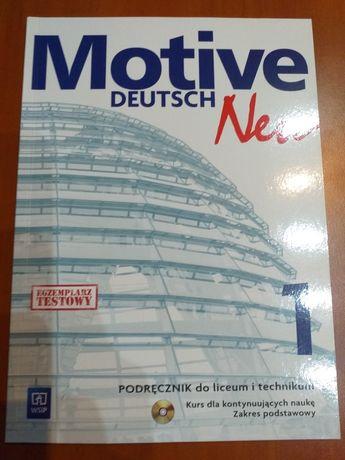 Podręcznik MOTIVE DEUTSCH Neu 1 WSiP