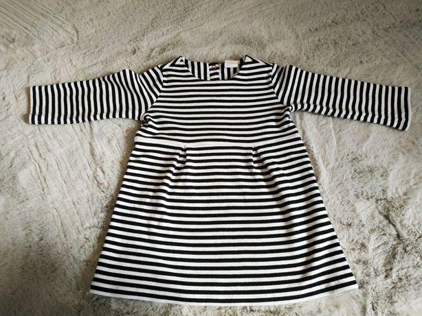 Sukienka marki H&M rozmiar 80 cm