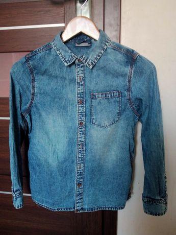 Koszula jeansowa rozm. 146