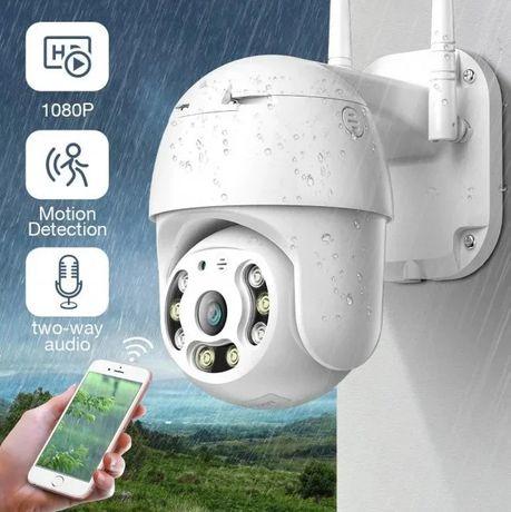 Камера відеонагляду вулична WI-FI, датчик руху, нічна зйомка