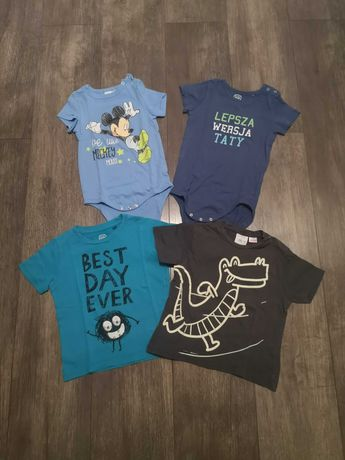 Zestaw 92 t-shirt/body