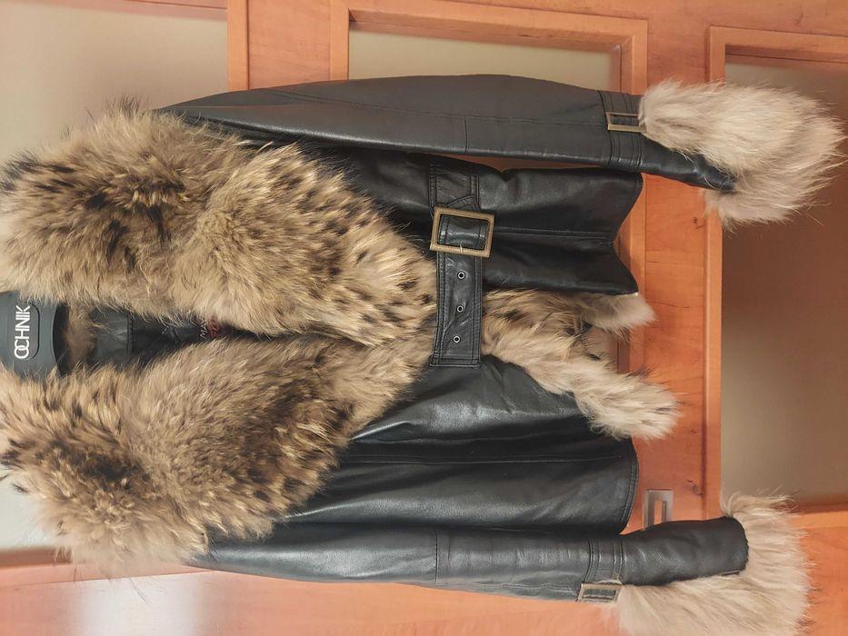 Skórzana kurtka z jenotem Radom - image 1