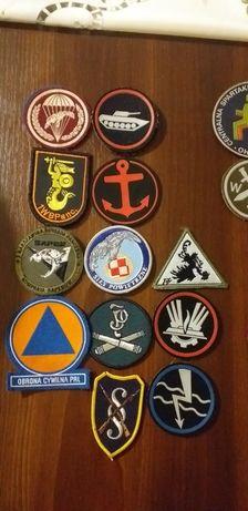 Naszywki wojskowe, emblematy