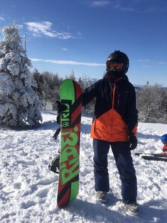 Deska snowboard snowboardowa 125 cm RIDE nie Burton head salomon