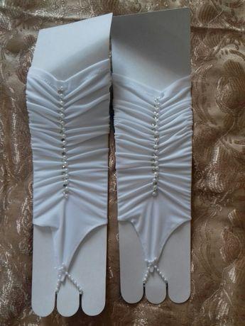 Продам нові весільні рукавички