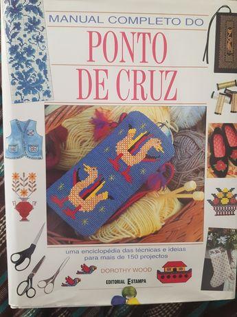 Livro Manual completo do Ponto de Cruz