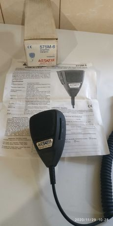 Mikrofon Astatic 575 M6 nowy