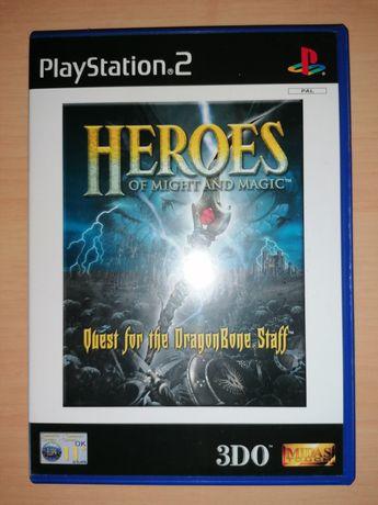 Jogos PS2 ( PlayStation 2 ) Heros of Might and Magic (Optimo Estado)