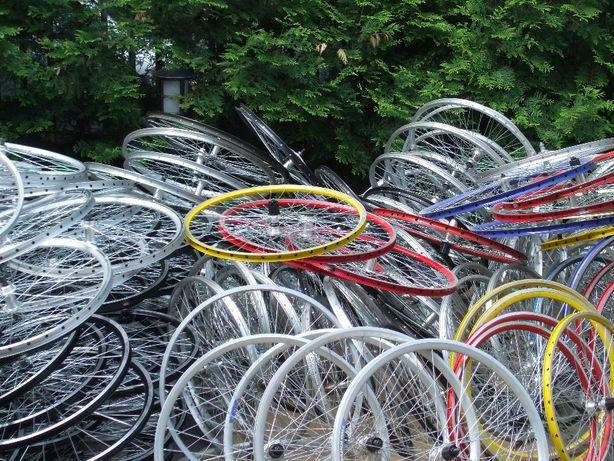 koła rowerowe różne rozmiary przednie tylne czarne srebrne itd