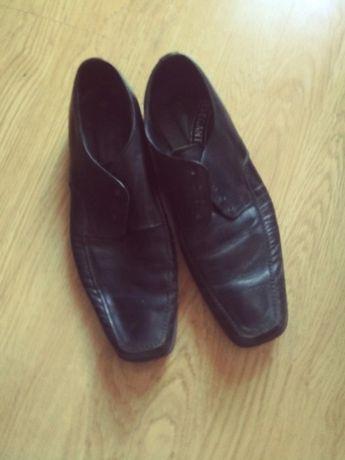 buty czarne męskie elegance rozmiar 42