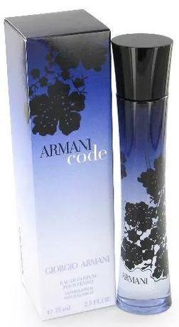 Giorgio Armani Code for Women. Perfumy damskie. EDP 75 ml. KUP TERAZ!