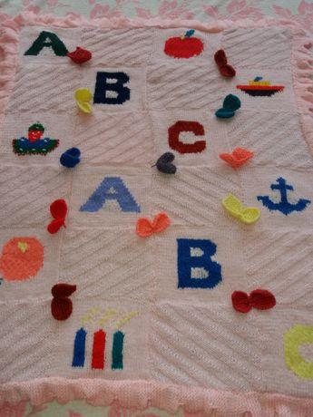 Теплое детские одеяло