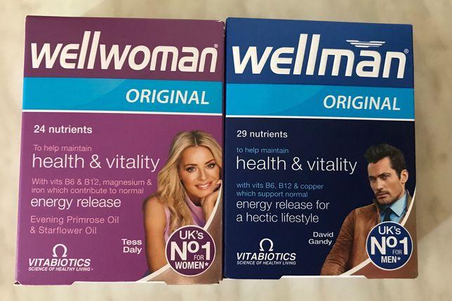 Комплекс вітамінів Wellman, Wellwoman.