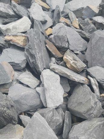 Kora kamienna antracytowa (łupek czarny) 30-60mm. HIT!