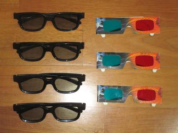 Óculos 3 Dimensões