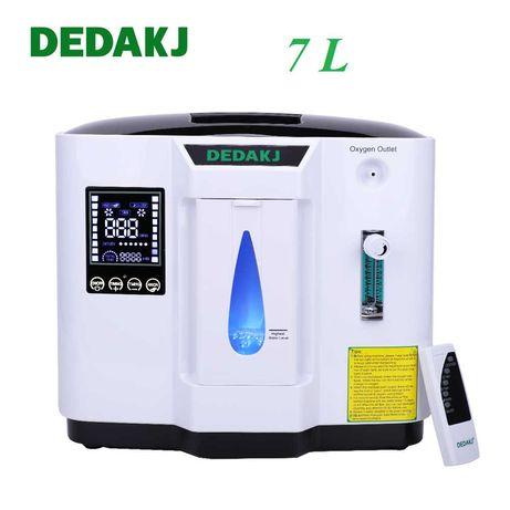 Б/У Кислородний кисневий концентратор DEDAKJ DE 7L Можна Аренда 165 гр