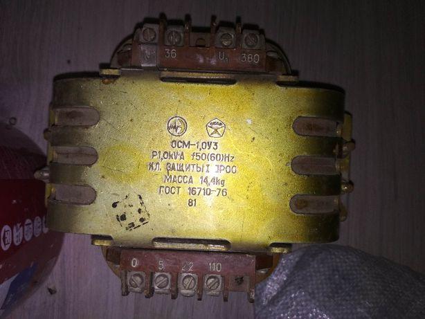 Трансформаторы ОСМ-0.063/0.1/0.16/0.25/0.4/1,0УЗ 380в/110/36/22/5