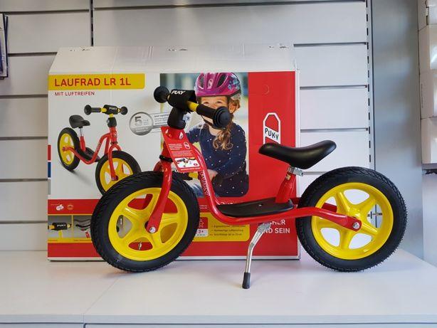 Rowerek biegowy Puky LR 1 L BR czerwony dla dzieci + pasek