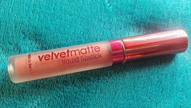Matowa pomadka LASplash velvet matte liquid lipstick.