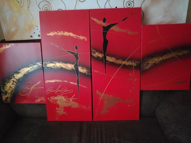 Obrazki 30x70 oraz 30x40