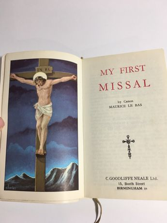 My first missal Brepols библия оригинал антикварные книги