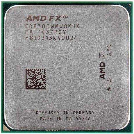 Комплект Fx 8300  + Gigabyte Ga-970a-ds3p + 8gb оперативки+GAMMAX 200T