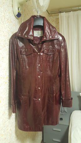 Кож.женская куртка