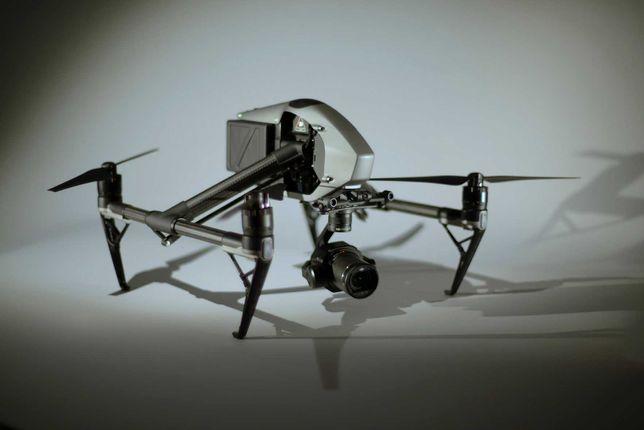 Dron DJI Inspire 2 , kamera X7 , operator - WYNAJEM