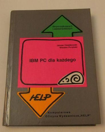 IBM PC dla każdego - J. Cielątkowski i W. Porębski - sytem MS DOS 5.0