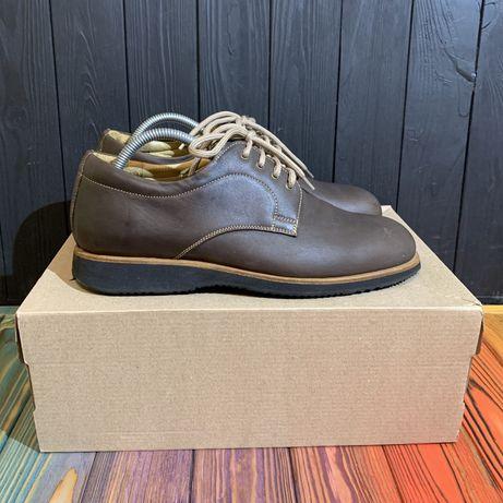 Кожаные кроссовки Naviboot Swiss 43 размер ecco lacoste clarks