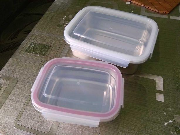 Hermetyczne pojemniki śniadaniowe/do przechowywania