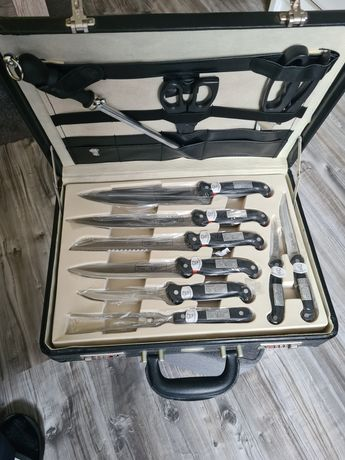 Noże Rosenbaum nowe walizka